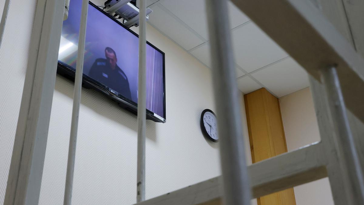 Vista desde la habitación en la que mantienen recluido al periodista bielorruso,  Roman Protasevich.