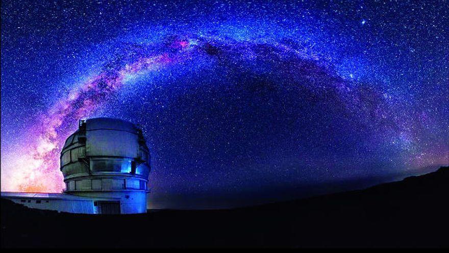 El Observatorio de La Palma tiene el cielo más oscuro del planeta