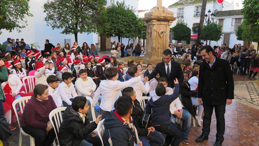 La Asociación del Casco Histórico recupera los villancicos en Navidad