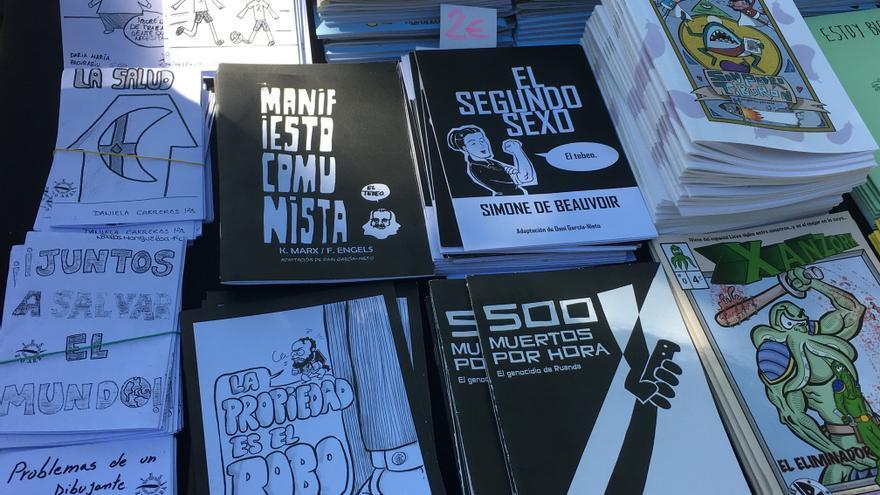 Los fanzines del IES Río Arba de Tauste ya están en las tiendas