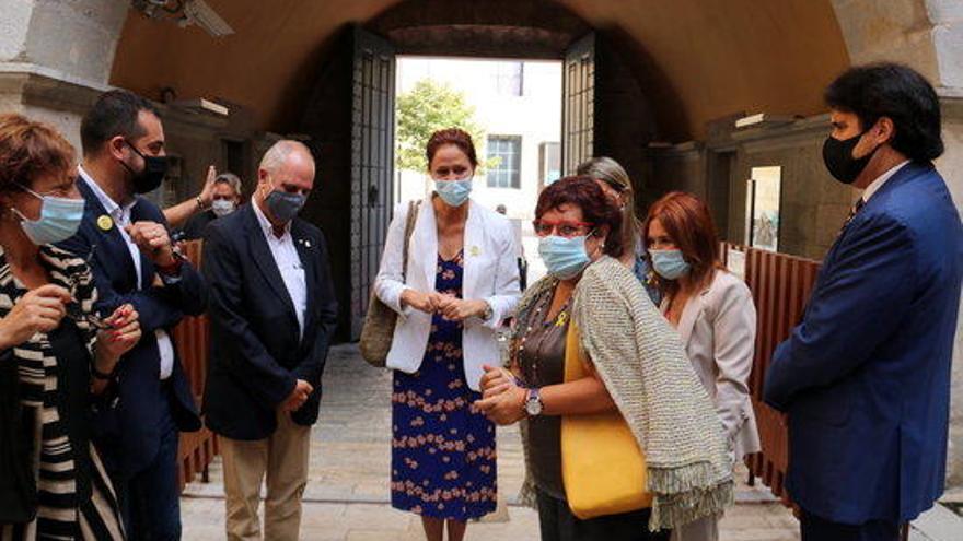 Clam a Girona per la llibertat dels presos amb la presència de Dolors Bassa