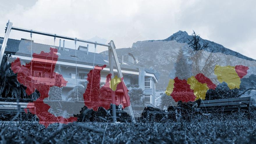 Estas son las zonas despobladas de Asturias que optan a fondos europeos