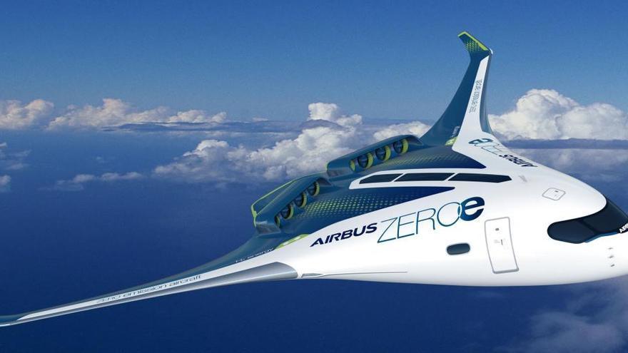 Airbus tendrá los primeros aviones impulsados por hidrógeno en 2035
