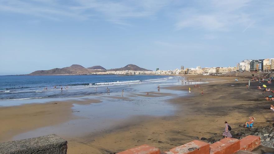 Tiempo en la playa de Las Canteras