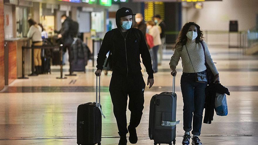 La llegada de turistas a la Comunitat Valenciana en marzo cae un 81 % respecto al primer mes de estado de alarma
