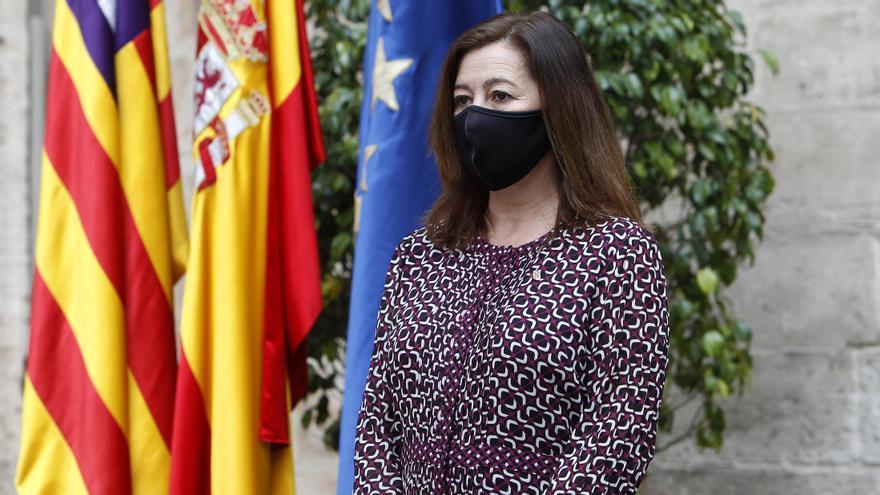 Armengol, entre los presidentes autonómicos suspendidos por su gestión de la pandemia