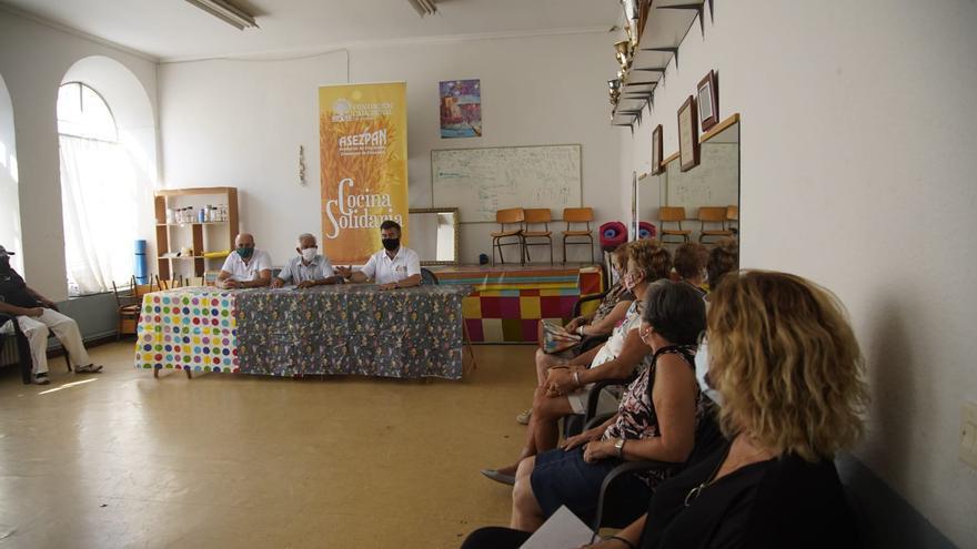 85 familias zamoranas reciben una comida diaria de la nueva Cocina Solidaria de Zamora