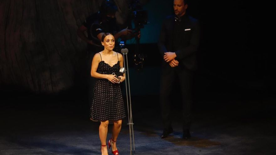 La coreógrafa cordobesa Olga Pericet, premio Max a la Mejor Intérprete Femenina de Danza
