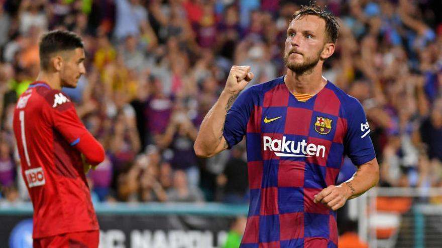 El Barça s'imposa amb esforç al Nàpols a Miami