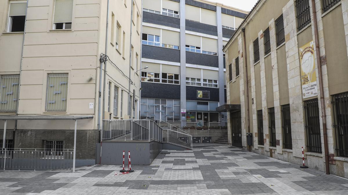 Colegio Medalla Milagrosa, donde se ha clausurado un aula