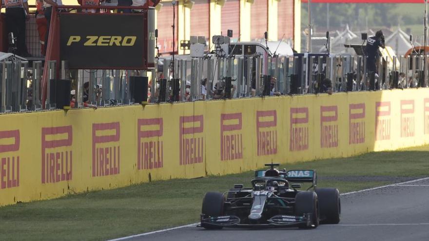 Hamilton, més líder després d'aconseguir a Mugello la seva 90a victòria
