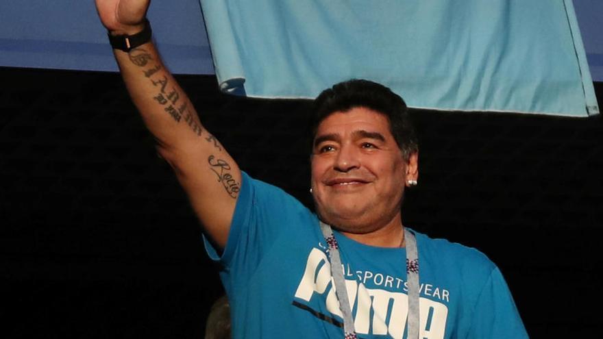 Maradona da negativo en el test del coronavirus