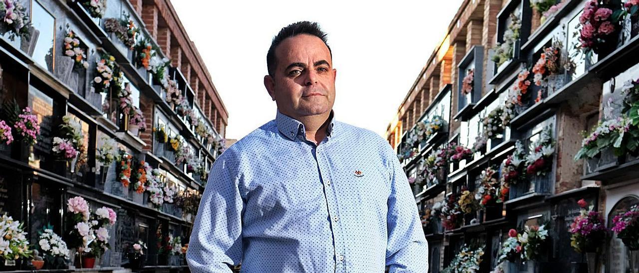 El eldense Damián Serrano López, actual secretario de AESPROFT. |