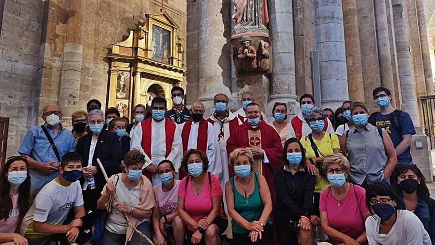 """Vecinos del alfoz de Toro completan una """"Marcha Jubilar Arciprestal"""""""