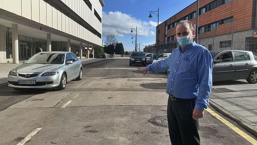 Siero iniciará en la calle Leopoldo Lugones el plan para peatonalizar el centro de la localidad