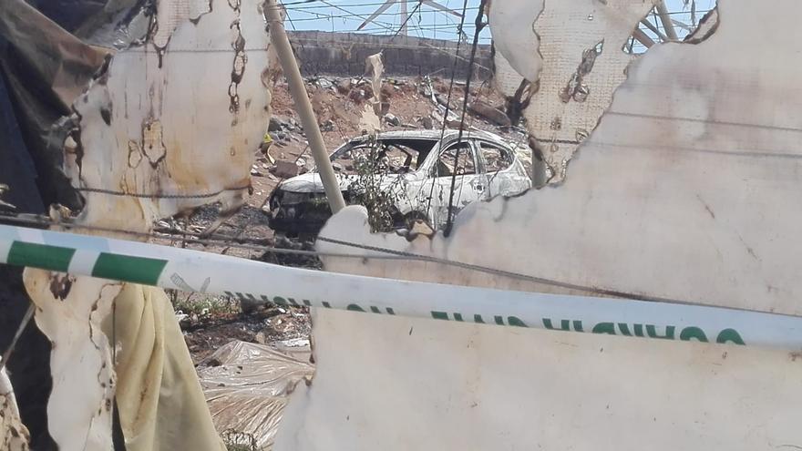 El varón calcinado en un coche en Pozo Izquierdo fue víctima de un ajuste de cuentas