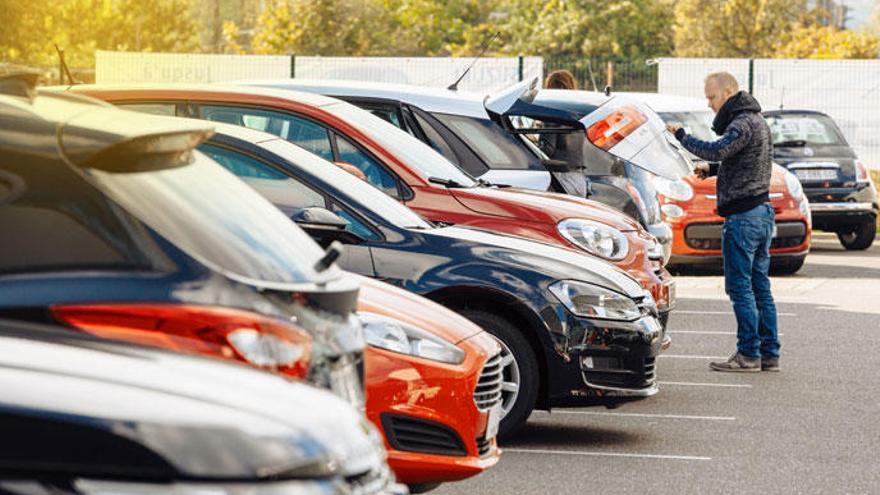 Los coches de segunda mano mantienen buen ritmo de venta.