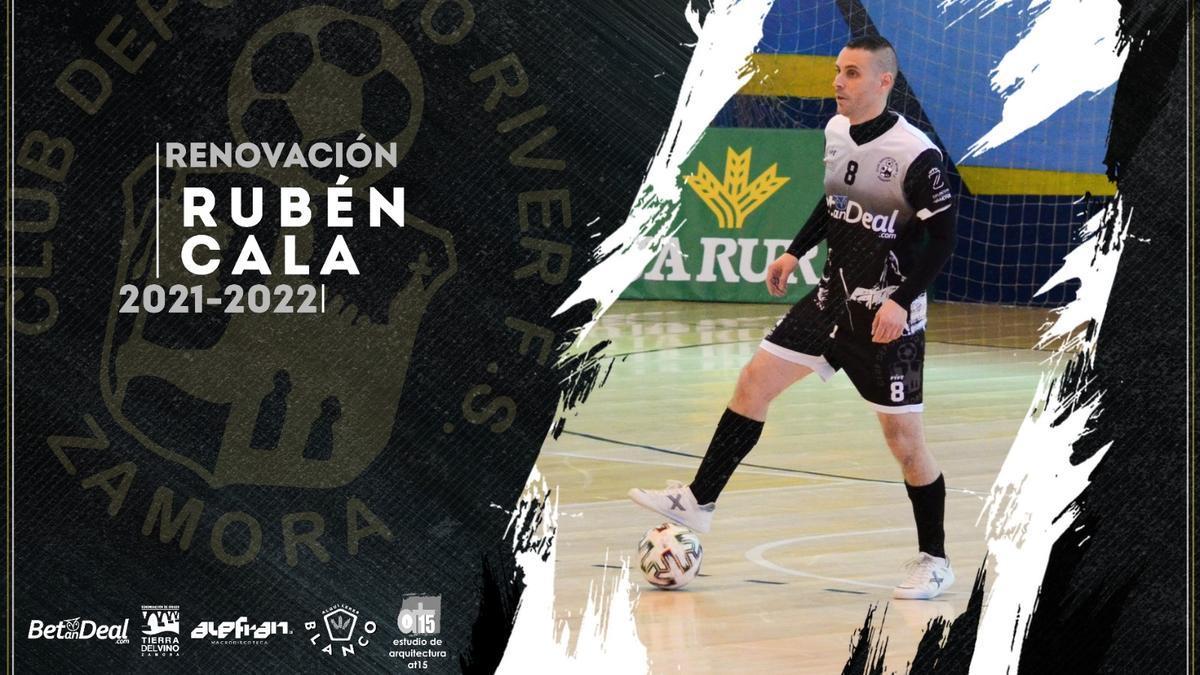 Anuncio oficial de la renovación de Rubén Cala