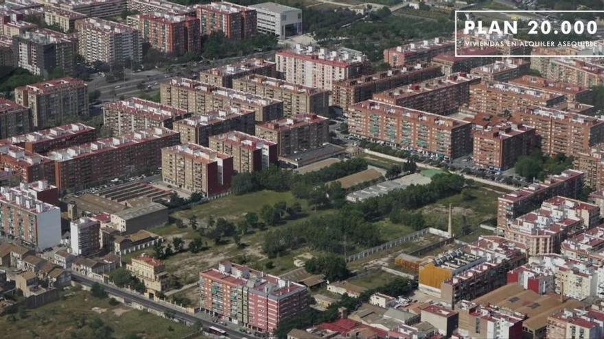 Urbanización del antiguo cuartel de Ingenieros de la calle San Vicente