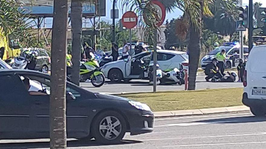 Detenido por desear en Facebook la muerte de dos policías que sufrieron un accidente