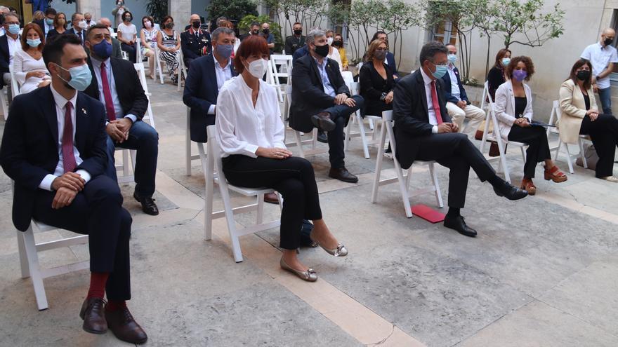 L'acte conjunt de la Diada de les administracions gironines reivindica la «unitat» per avançar cap a la independència