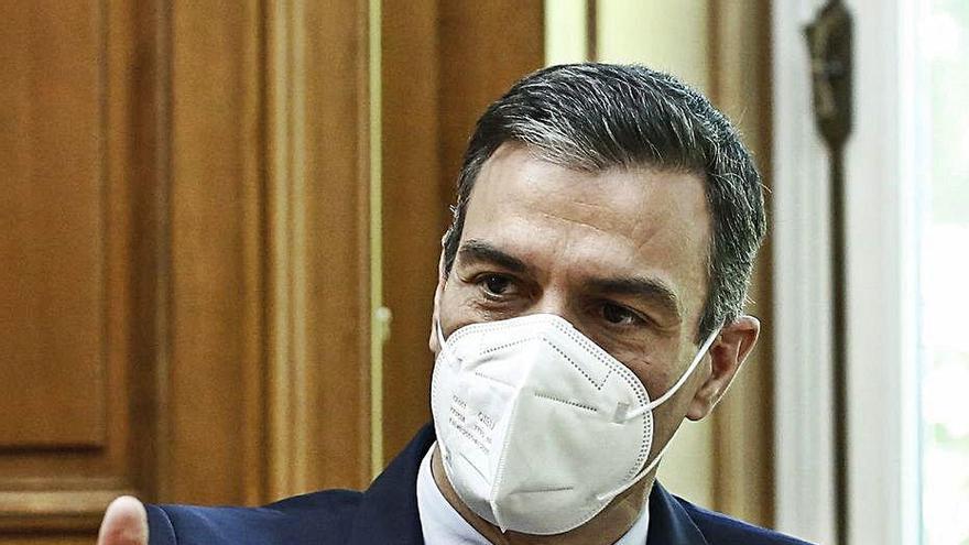 Pedro Sánchez assegura que «l'estat d'alarma és el passat i cal mirar al futur»