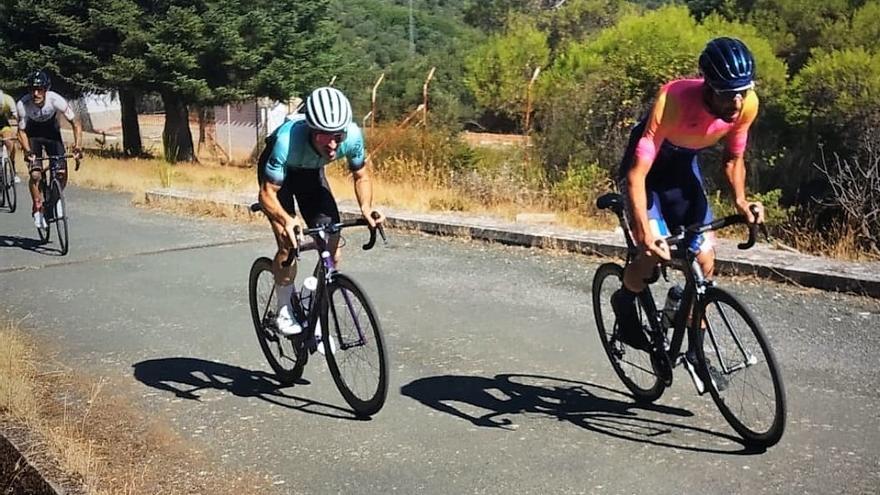 El ciclista de Monesterio Nico Montero segundo en la XXV Subida al Negrillo