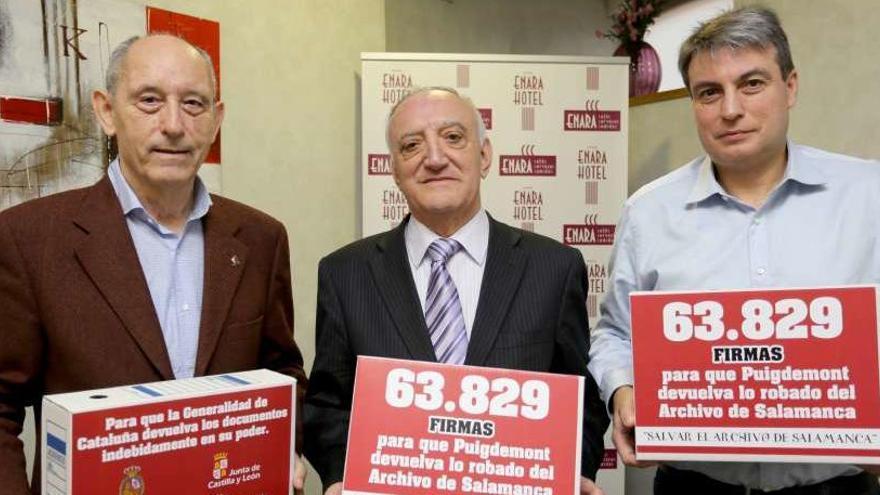 Piden en el Senado que Cataluña devuelva los legajos del Archivo de Salamanca