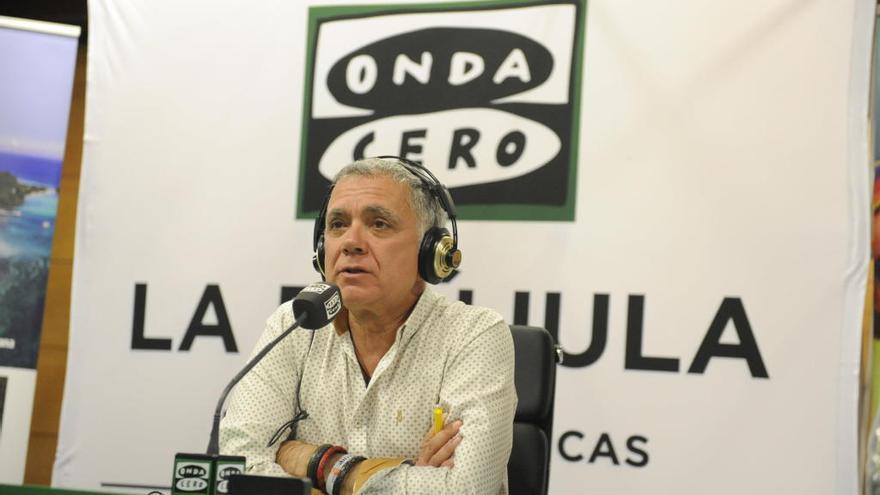 Juan Ramón Lucas emite una edición especial de 'La Brújula' desde Palma
