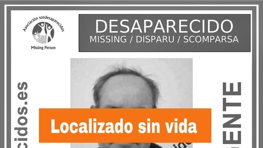 Localizan sin vida a un hombre desaparecido en El Tanque