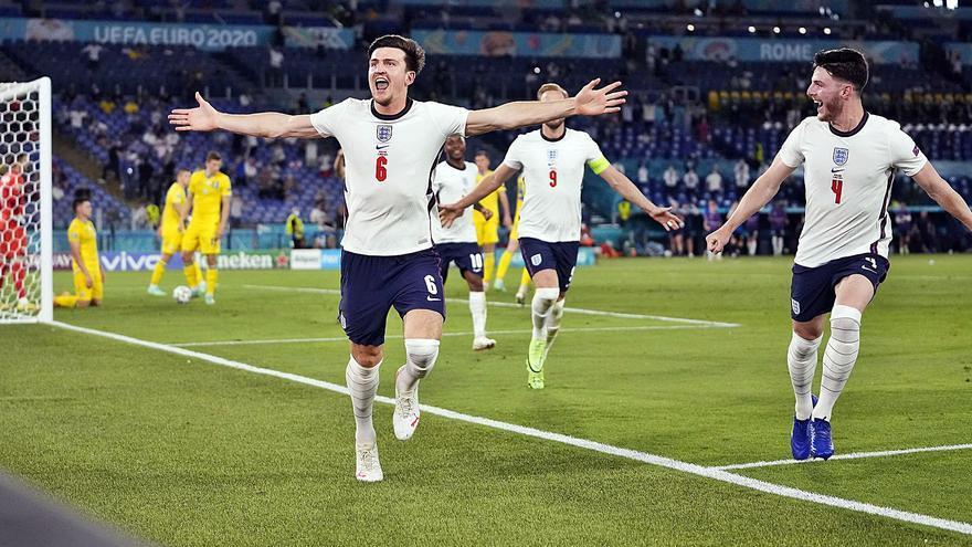 Inglaterra regresa a Wembley a lo grande