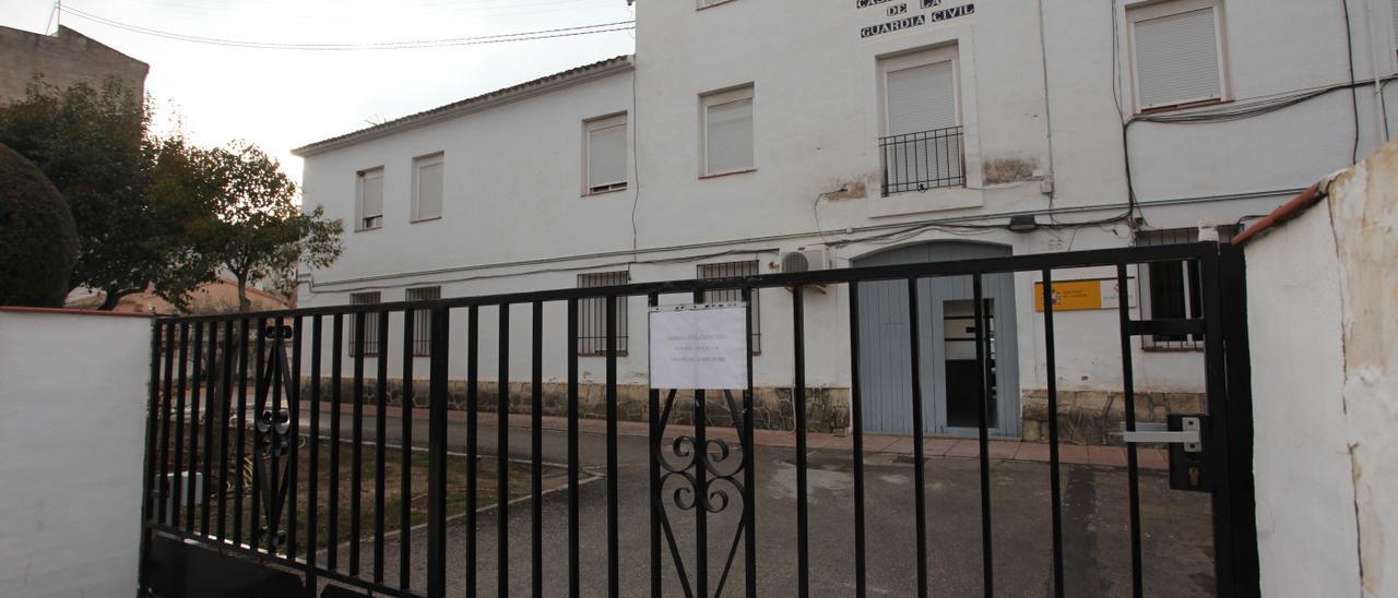 Cuartel de la Guardia Civil de Cocentaina.