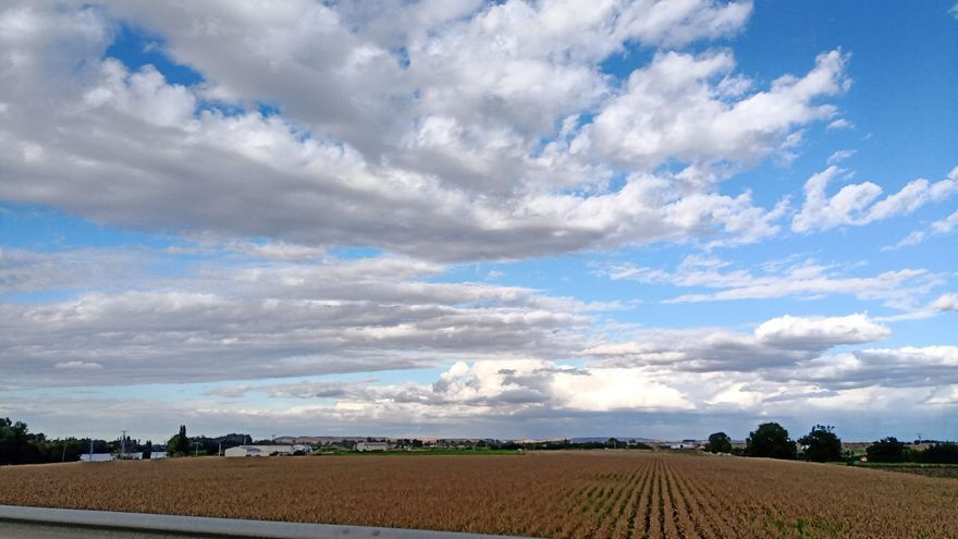 El tiempo en Zamora hoy, martes | Un tímido Lorenzo entre un mar de nubes