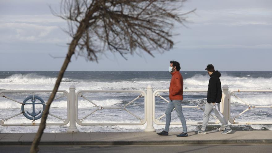 Asturias, en alerta por vientos de más de 110 kilómetros por hora y fuertes precipitaciones