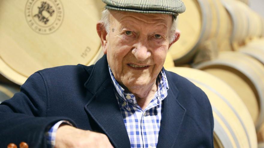Fallece el bodeguero vallisoletano Alejandro Fernández a los 88 años de edad