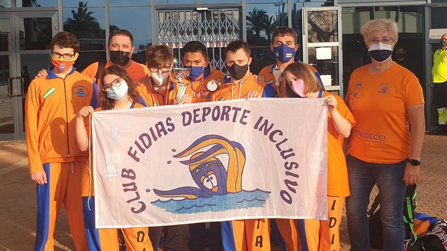 El Fidias logra la plata masculina por clubs en el Campeonato de España