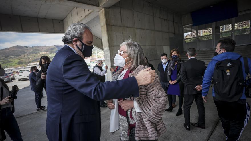Todas las imágenes del aniversario del Oviedo
