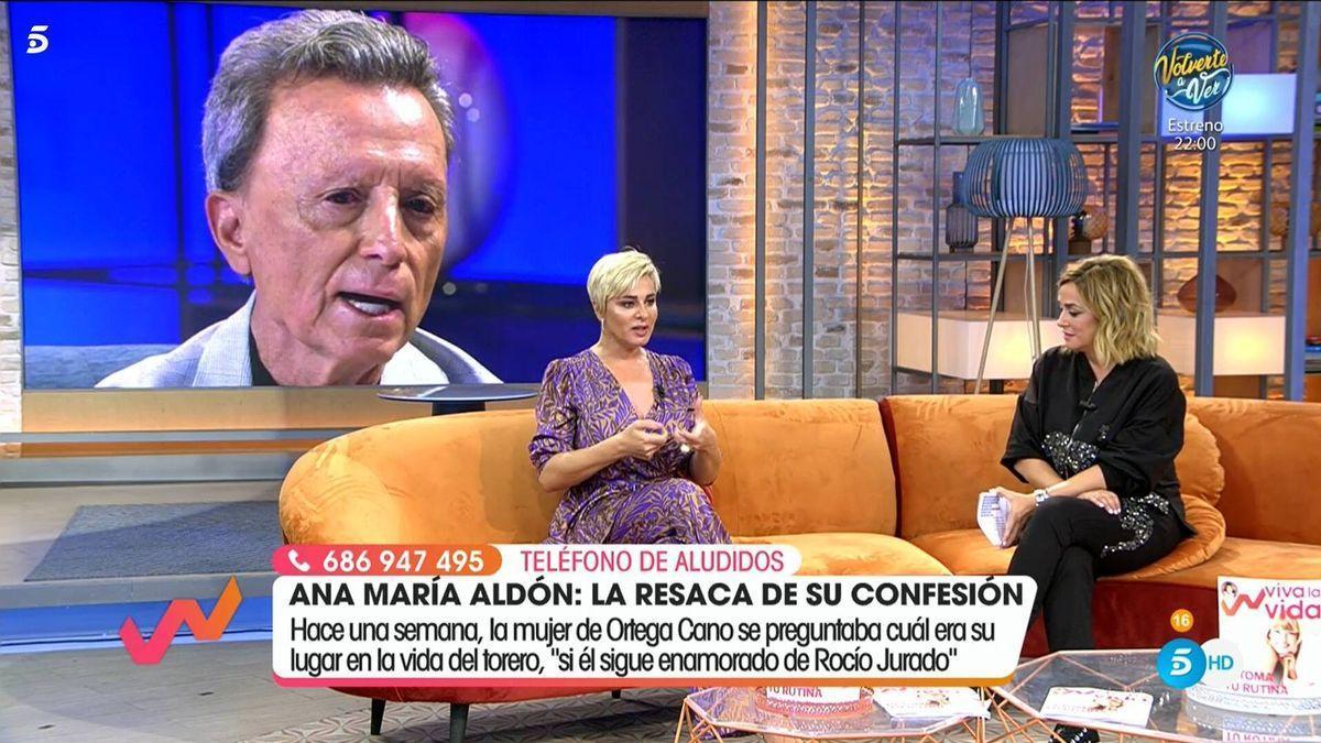 Toñi Moreno en 'Viva la vida'.