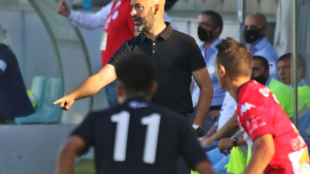 David Movilla, entrenador del Zamora CF. | J. L. F.