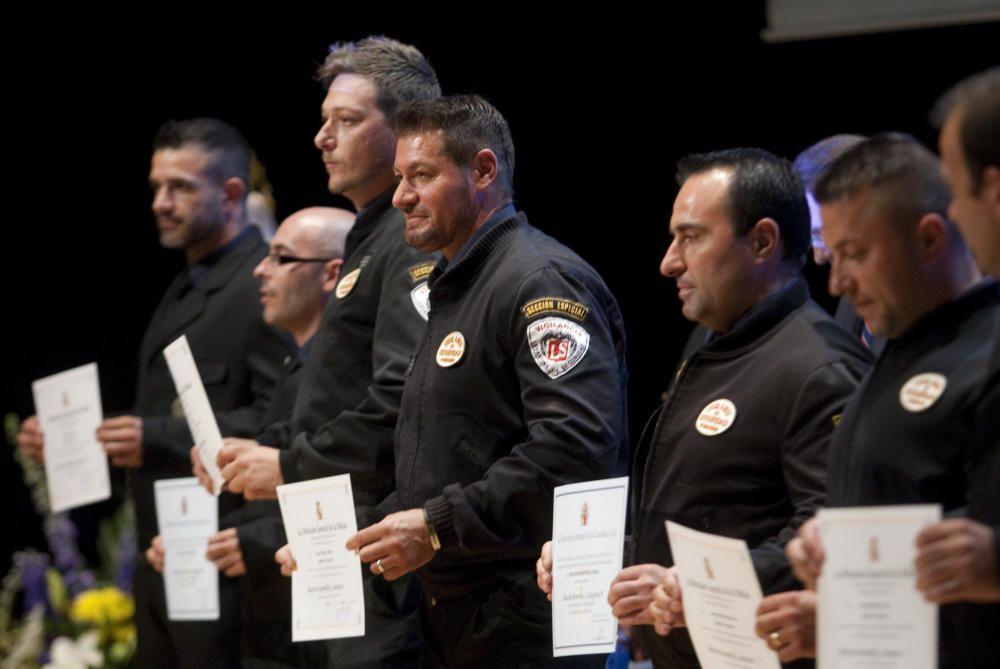 Entrega de condecoraciones en el Palacio de Congresos