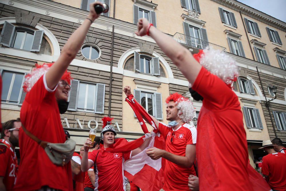 Así se vive la Euro2020, pasión por el fútbol