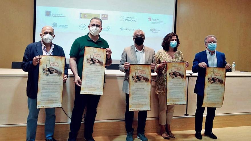 Así será la celebración del octavo centenario de la Carta Puebla, en Sanabria