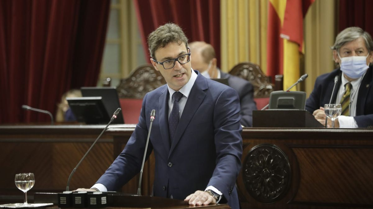 Toni Costa, portavoz parlamentario del PP.