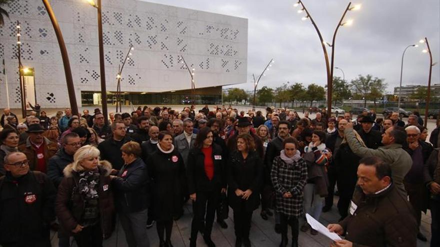 Medio millar de cordobeses protestan por el fallo de las hipotecas