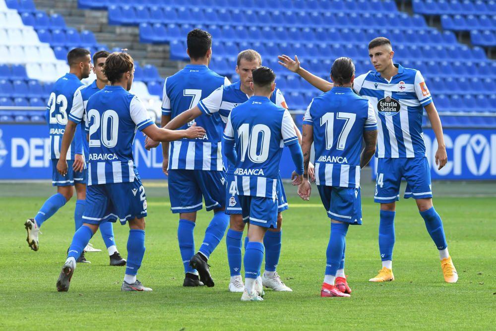 Deportivo 5 - 0 Arzúa