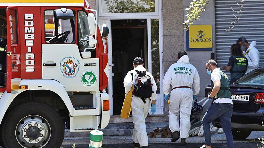 Muere una mujer que iba a ser desahuciada tras incendiarse su casa en Sigüeiro
