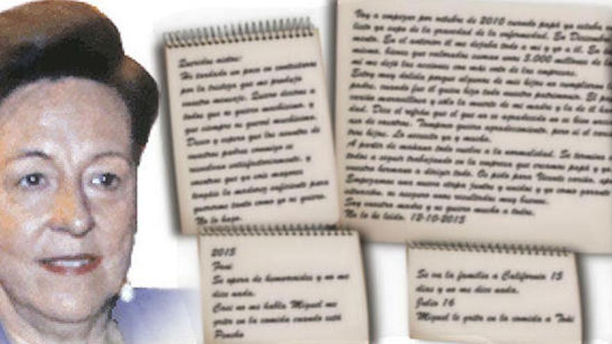 Sale a la luz el diario de la viuda de Vicente Sala