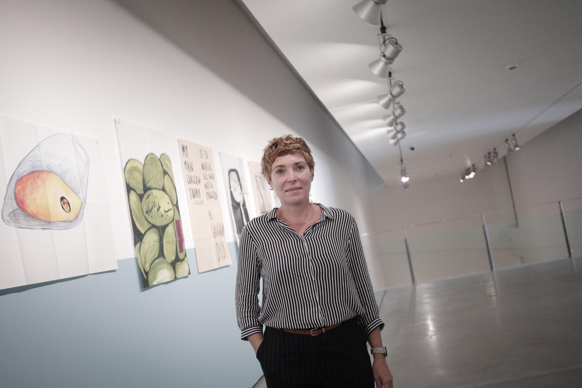 Núria Marquès inaugura este jueves en Es Baluard Museu la exposición 'Spleen de Teherán. Poesía en prosa'