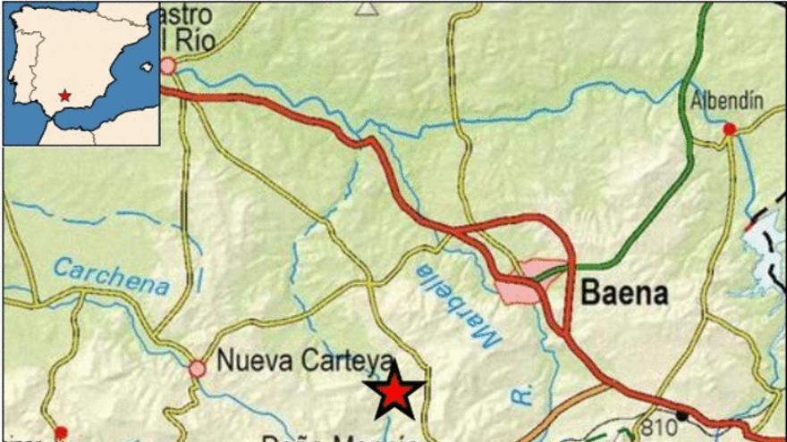 Registrado un terremoto de 2,5 en Doña Mencía