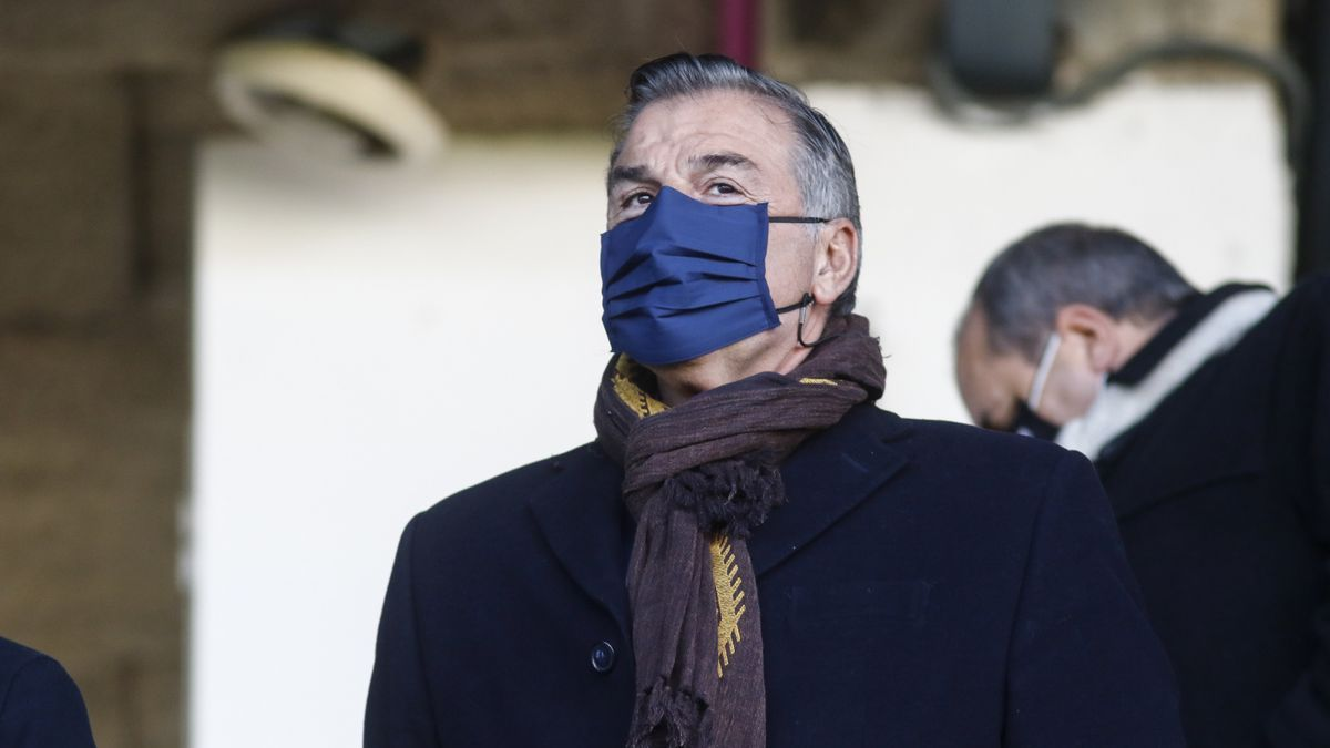 Fernando Vidal, presidente del Deportivo.